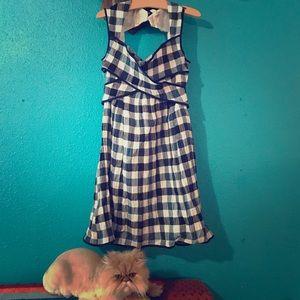 Esley Gingham Dress
